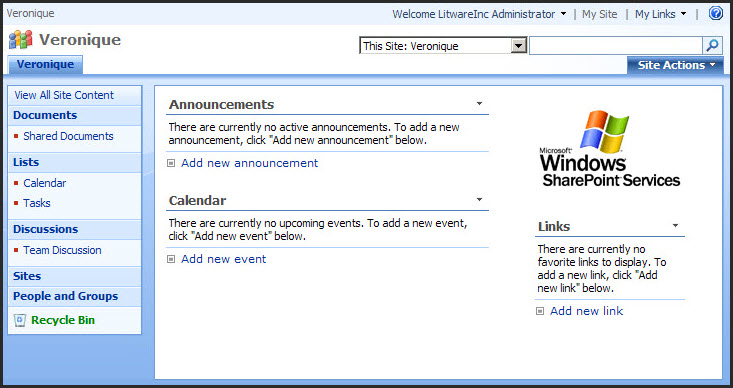 Sharepoint 2007 vs 2010 for end users the default for Sharepoint 2007 site templates