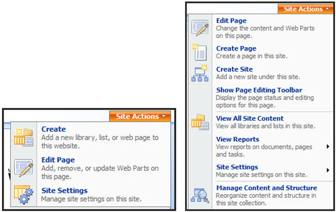 Sharepoint 2007 tutorial how to use the sharepoint content.