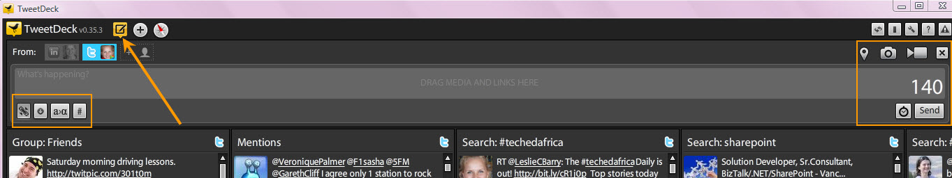 How To Use Twitter : Part 2 – Using TweetDeck – Views from