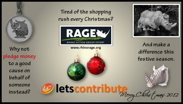 Christmas 2012 - Lets Contribute from Lets Collaborate