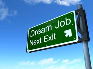 Dream job next exit