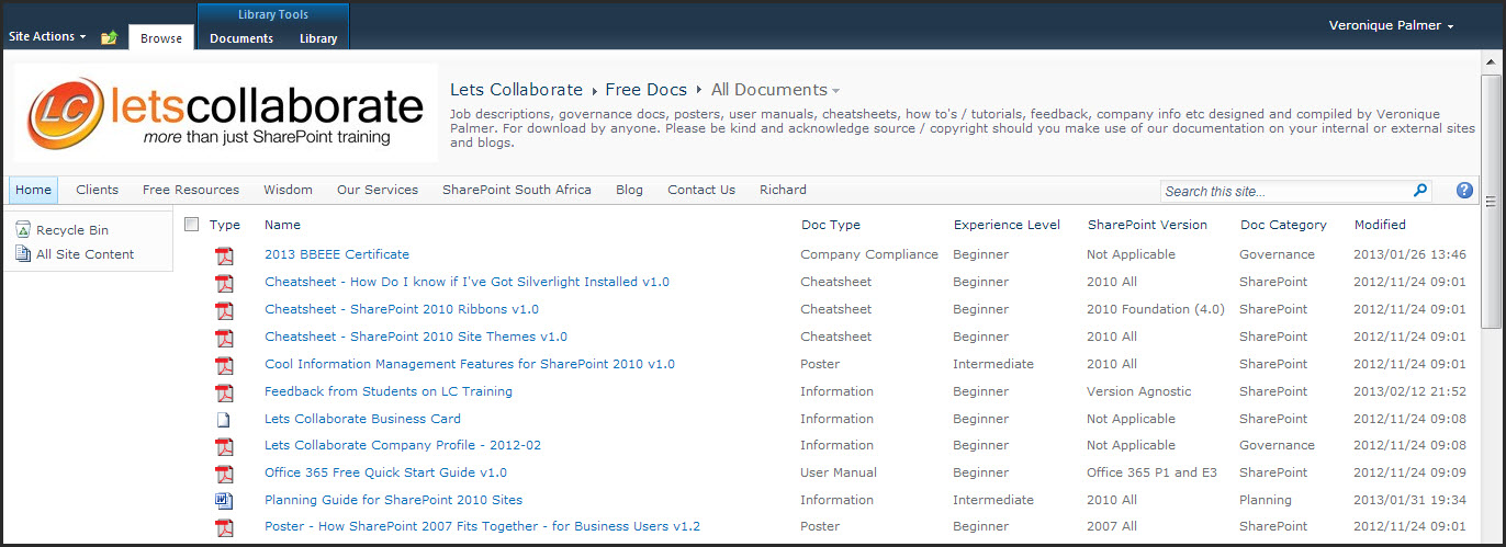 The Difference Between SharePoint 2010 Lists, Libraries and Pages ...