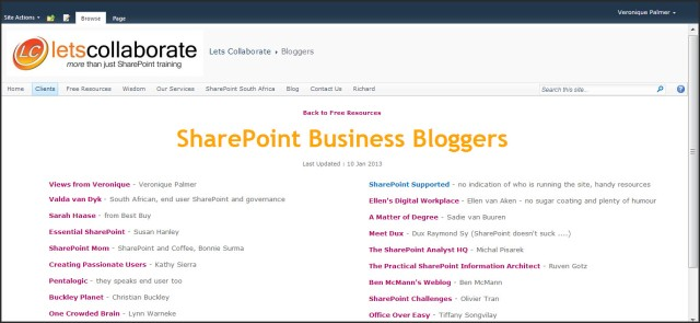 SharePoint Site Page