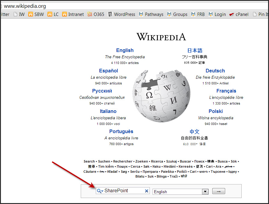 sharepoint 2010 wiki library navigation