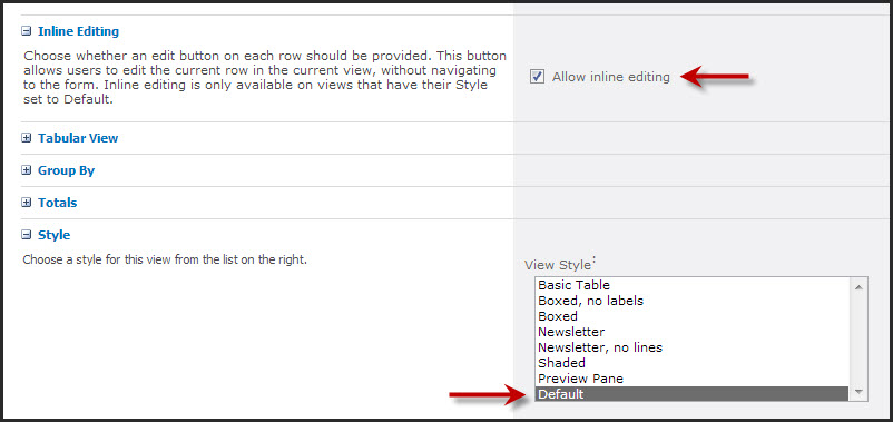 Inline Editing Not Working? – Views from Veronique