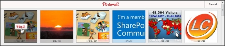 Pinterest with pics
