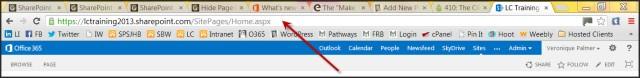 URL Box Chrome