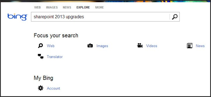 Bing search 3