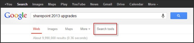 Google search tools 1