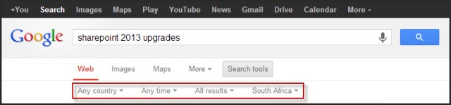 Google search tools 2