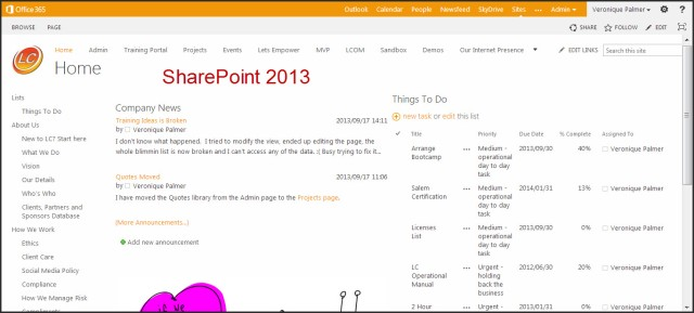 LC intranet on 2013 Page 1