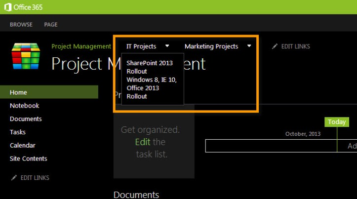 Navigation on SharePoint 2013 2