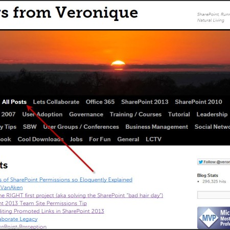 Views from Veronique – Page 11 – SharePoint, Office 365