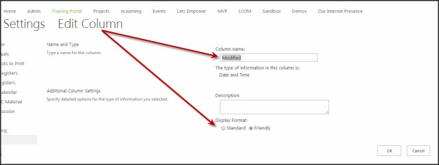 SharePoint Date Format 2