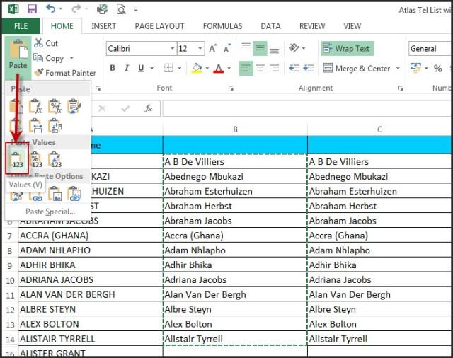 Excel Capitals Formula 3