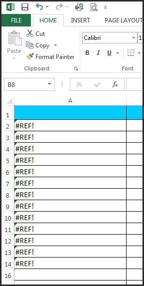 Excel Capitals Formula 3a