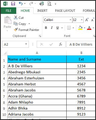 Excel Capitals Formula 5