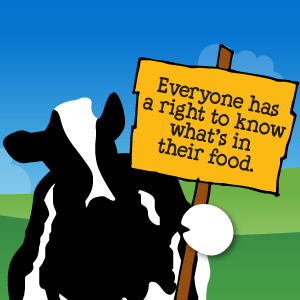 everyone has a right to know what's in their food