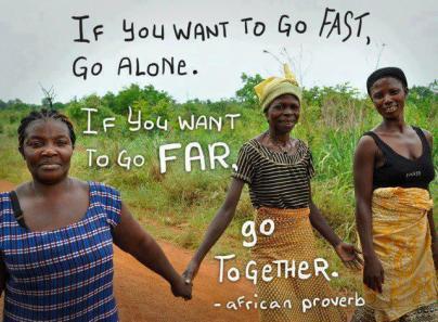 go together