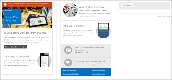 Office 365 is on its way