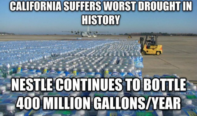 California drought Nestle