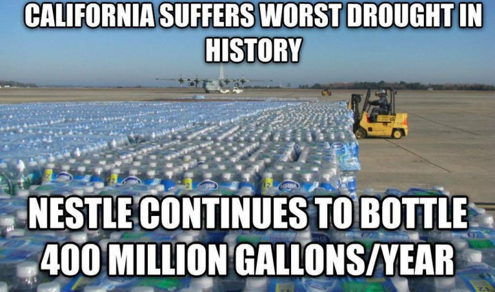 California drought Nestle