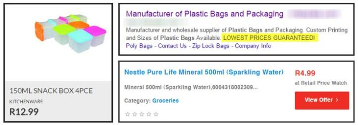 Customer Facing Plastic