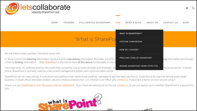 FAQ SharePoint