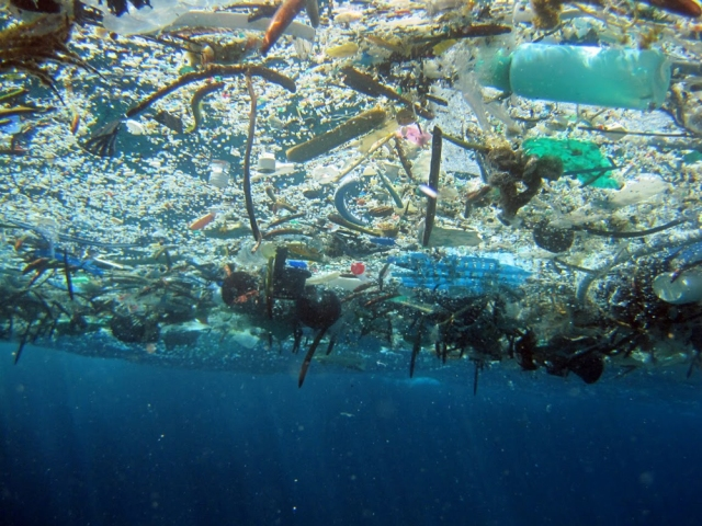 Plastic in the ocean 2