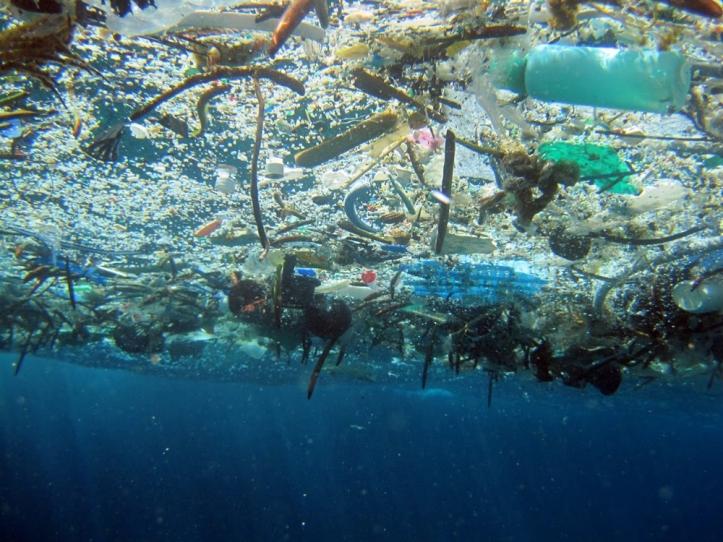 Plastic in the ocean 2