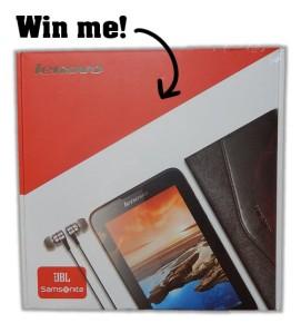 Win a Lenovo Tablet